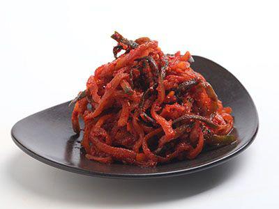 干萝卜丝酱菜